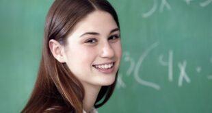 Teenage Girl Maths