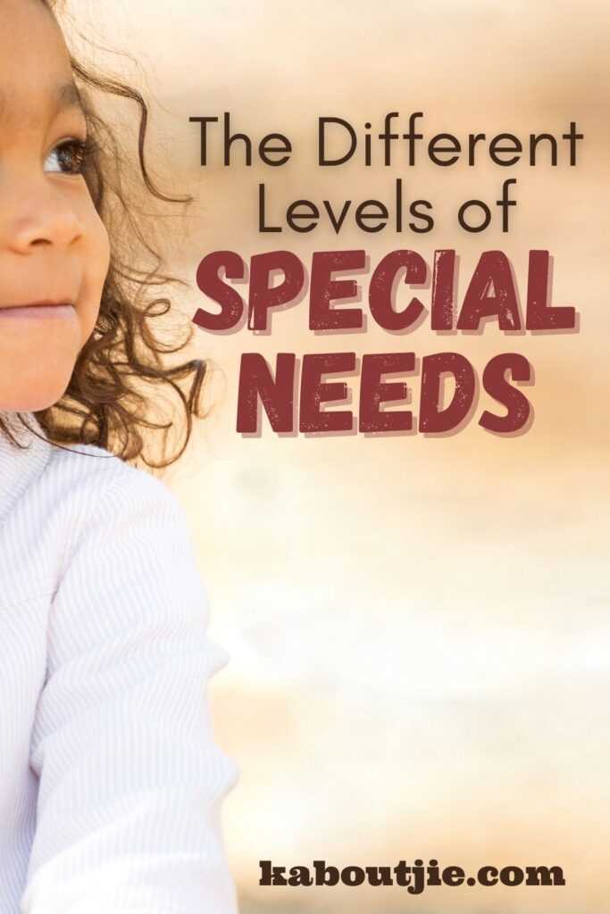 The Different Levels Of Special Needs