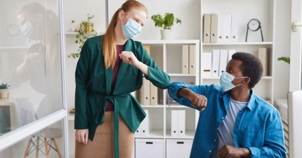 Nativa Immune Masked Office Workers