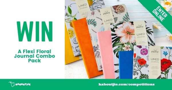 The Papery Giveaway Journal Combo