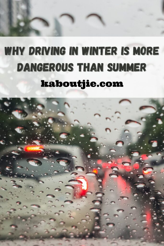 Why Driving in Winter Is More Dangerous Than Summer