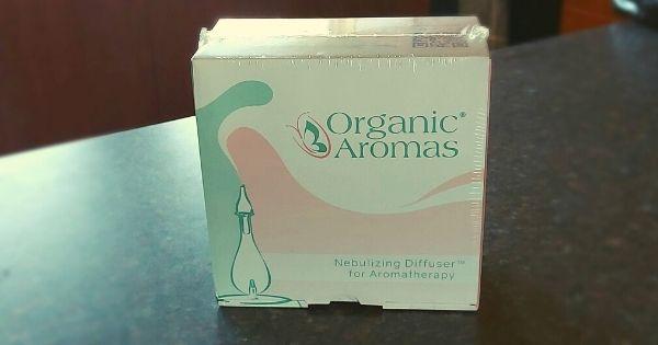 Organic Aromas Nebulizing Diffuser raindrop aromatherapy
