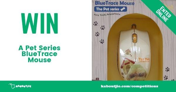 Win a Pet Series BlueTrace Mouse