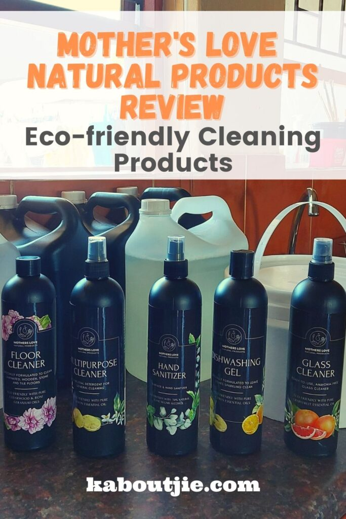 Mother's Love Natural Products Review: Eco-friendly Cleaning Products