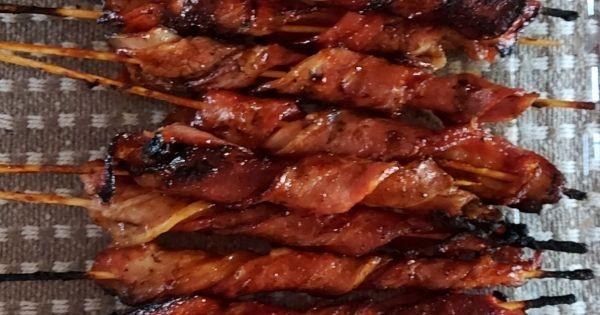 Bacon Oepsies for Braai