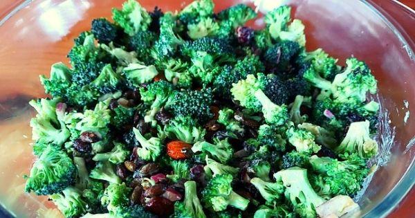 Broccoli and Almond Salad