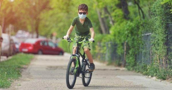Child Cycling Mask