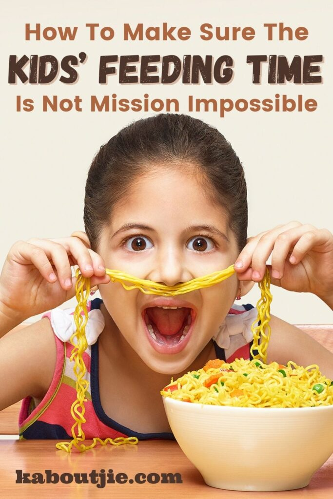 How To Make Sure The Kids' Feeding Time Is Not Mission Impossible