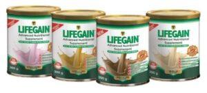 Lifegain product range