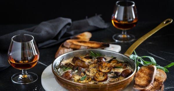 Mushroom & Mozzarella Fondue