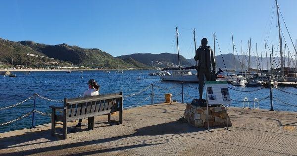 Simon's Town Statue Waterfront