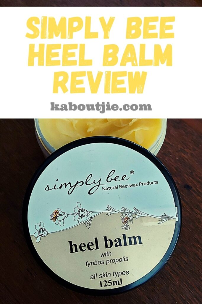 Simply Bee Heel Balm Review