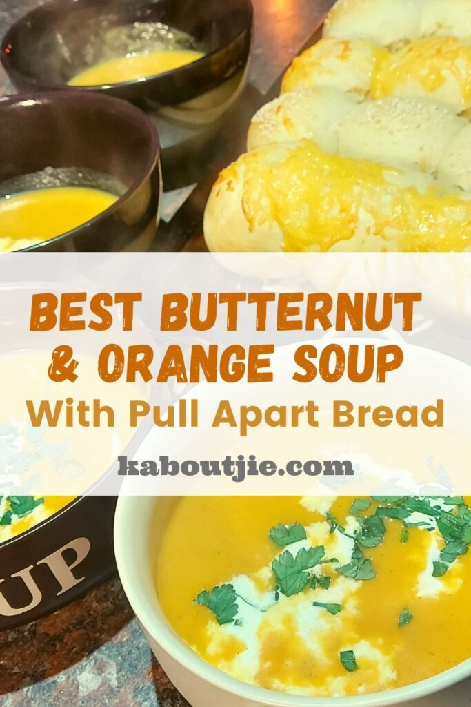 Best Butternut and Orange Soup with Pull Apart Bread