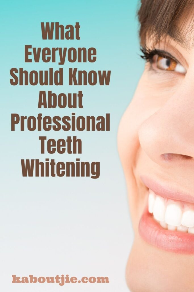 What Everyone Should Know About Professional Teeth Whitening
