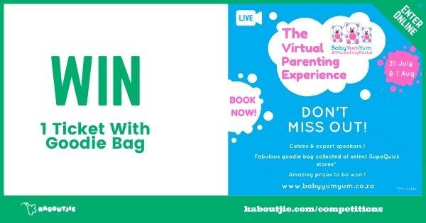 Win ticket goodie bag