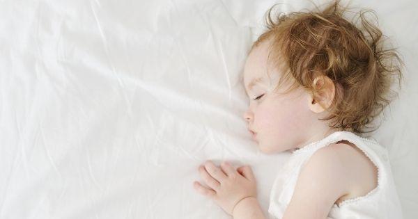 Toddler Sleeping Peacefully