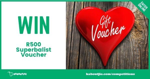 Win a R500 Superbalist Gift Voucher