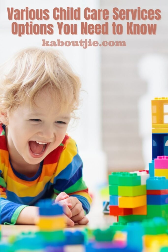 Various Child Care Services Options You Need to Know