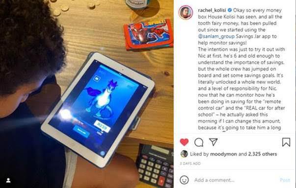 Rachel IG post