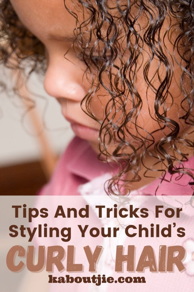 Tips and Tricks for Styling Your Child's Curly Hair